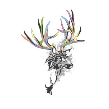 White-Tailed Deer by Design-By-Humans