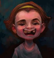 strange kids portrait 01 by Dazdays