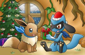 PMD Sky Christmas by PokemonMasta