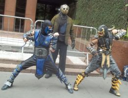 SCORPION COSPLAY by DOUGLASCORPION