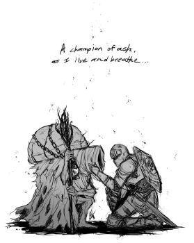 A Champion of Ash and Their Companion... by Smudgeandfrank