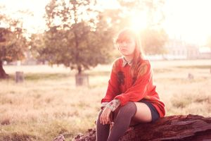 Autumn has come to my town by LeCoco