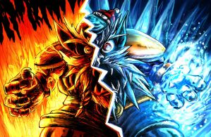 Spectrum of Mana: Fire And Ice by LightningArts
