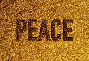 Golden Peace by Amr-Mohsen