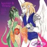 Lucian and Grace by MommySpike