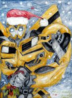 Christmas Bumble by Bumblesz