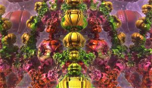 coloured chaotic forms by Andrea1981G
