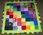 Nicole inutero baby quilt done by wiccanwitchiepoo