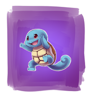 Kyle's Squirtle by OrcaCookie