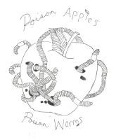 Poison Apples, Poison Worms by theRedbucket