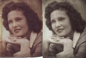 photo restoration by Practicecactus