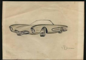 dorman concept convertible mid 50's by cadillacstyle