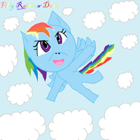 FILLY RAINBOW DASH ~And point commisions~ by ShadowUkelover
