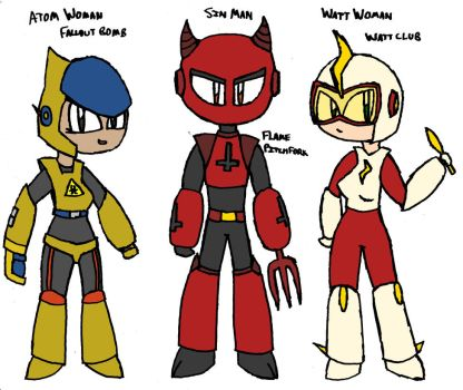 Robot Master Adoptables (Closed) by D-Prototype