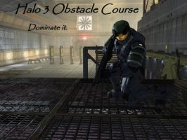 Halo 3 Obstacle Course again by HylianForrunner