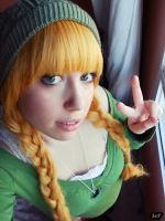 Original Cosplay (Casual Green) 4 by SaFHina