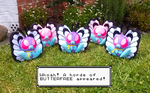 Whoa! A horde of Butterfree appeared! by sugarstitch