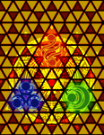 Triforce: Ancient Energy by Ventura-Virtue24