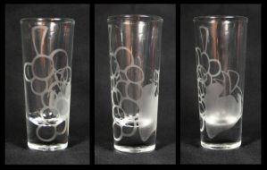 Berry Punch's Shot Glass by GeneveveX