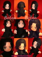 Severus Snape plush version by Momoiro-Botan