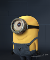 Minion of Dispicable Me by Imaginesto