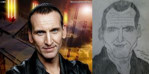 Christopher Eccleston - Chrostophor Occloston by JesusTheStalker