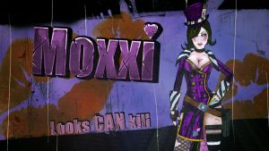 Moxxi Borderlands 2 by BL4UPUNKT
