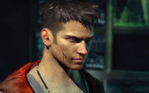 DmC Dante: Beaten Up by cloudstrifeshirtless