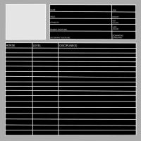 Free Staff + Rider Template by Zephyrra