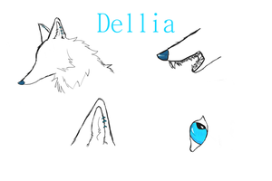 Dellia ref. sheets by Saytyma