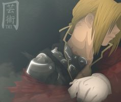 Edward Elric by themnaxs