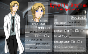Leapold Stryker - Nyxvile Asylum Staff Application by Midnyte-Wolff