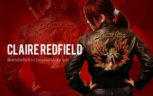 Claire Redfield Cosplay Wallpaper style by BrendaBirkin