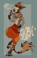 Anthro Vernid Adoptable CLOSED! by LiLaiRa