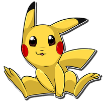 Inquisitive Pikachu by Nestly