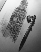 Big Ben by AnanyaArts