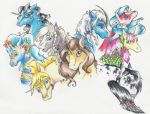 All The Pretty Equines by teera-misu