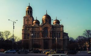The Cathedral in Varna by INTRU88