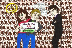 Thank You for 25+ Watchers! by HermioneFrost