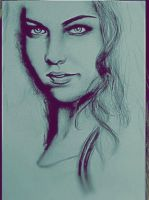 Portrait AMY LEE by FEIGUR