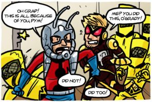 Ant-man and Wasp Small World by theEyZmaster