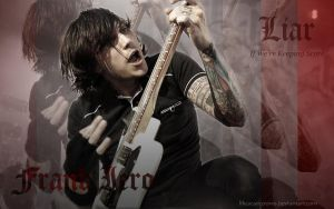 Frank Iero Wallpaper by likescarecrows