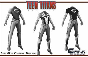 TEEN TITANS PROJECT FAN FILM (Superboy concept ar) by shakalegend