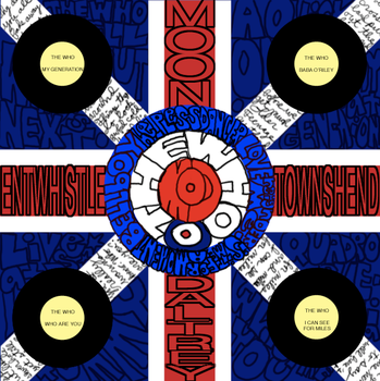 my mandala of The Who by reccaphoenix