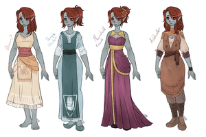 Dunmer dress-up 2 by AnnMY