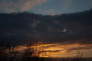 My today's sunset 0051 by steppelandstock