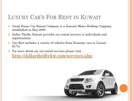 car for rent in kuwait by dollarthriftykw