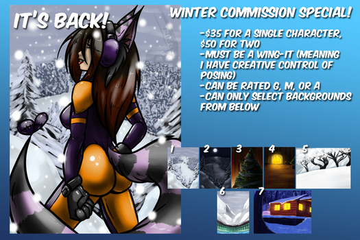 -=WINTER COMMISSION SPECIAL 2016=- by Barrin84