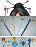 Lulu's Hairpins by RedShotRonin