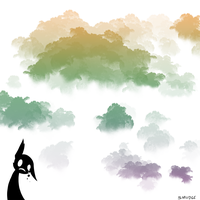 Cloudy brush by Smudgeful-Thinking